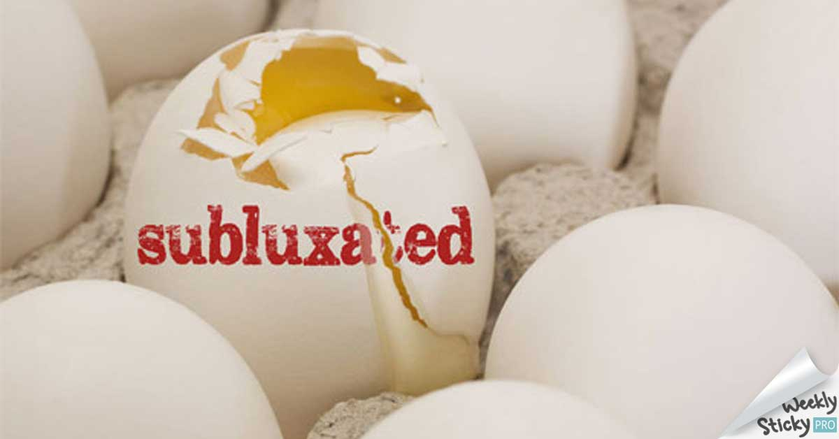 subluxated eggs